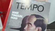 Majalah Tempo Bantah Hina Jokowi Lewat Cover Siluet Pinokio