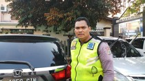 Cerita Bripka Eka Setiawan Ditabrak hingga Nemplok di Mobil yang Melaju