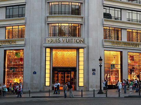 Toko Louis Vuitton Paris.