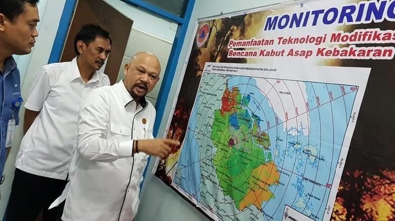Atasi Karhutla di Riau, BPPT Fokus Lakukan Hujan Buatan