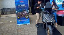 Yamaha Aerox, Gampang Dimodif dan Enak Diajak Ngebut