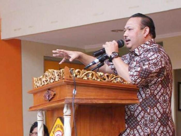 Ketua DPP Partai Golkar Bidang Ekoraf, Ricky Rachmadi,
