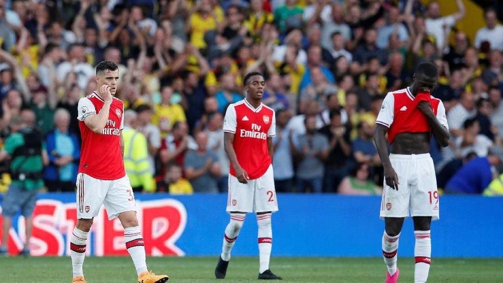 Sempat Unggul Dua Gol, Arsenal Harus Rela Imbang 2-2 dengan Watford