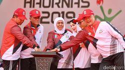Hari Olahraga Nasional, Gubernur Khofifah Kenalkan Jatim Seger