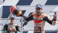 Sindir Rossi, Marquez: Insiden di Kualifikasi Memotivasi Saya Menang