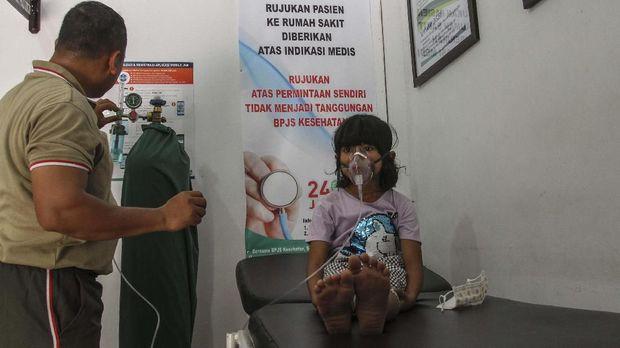 asap karhutla menganggu pertumbuhan anak