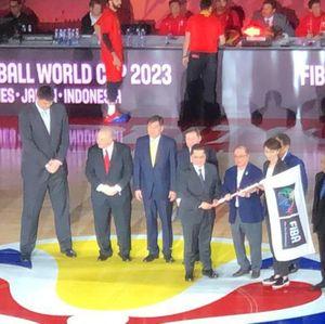 Indonesia Terima Estafet Piala Duna Basket 2023 di Beijing