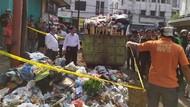 Petugas Temukan Mayat Janin Lelaki di Tempat Sampah Pecinan Bandung