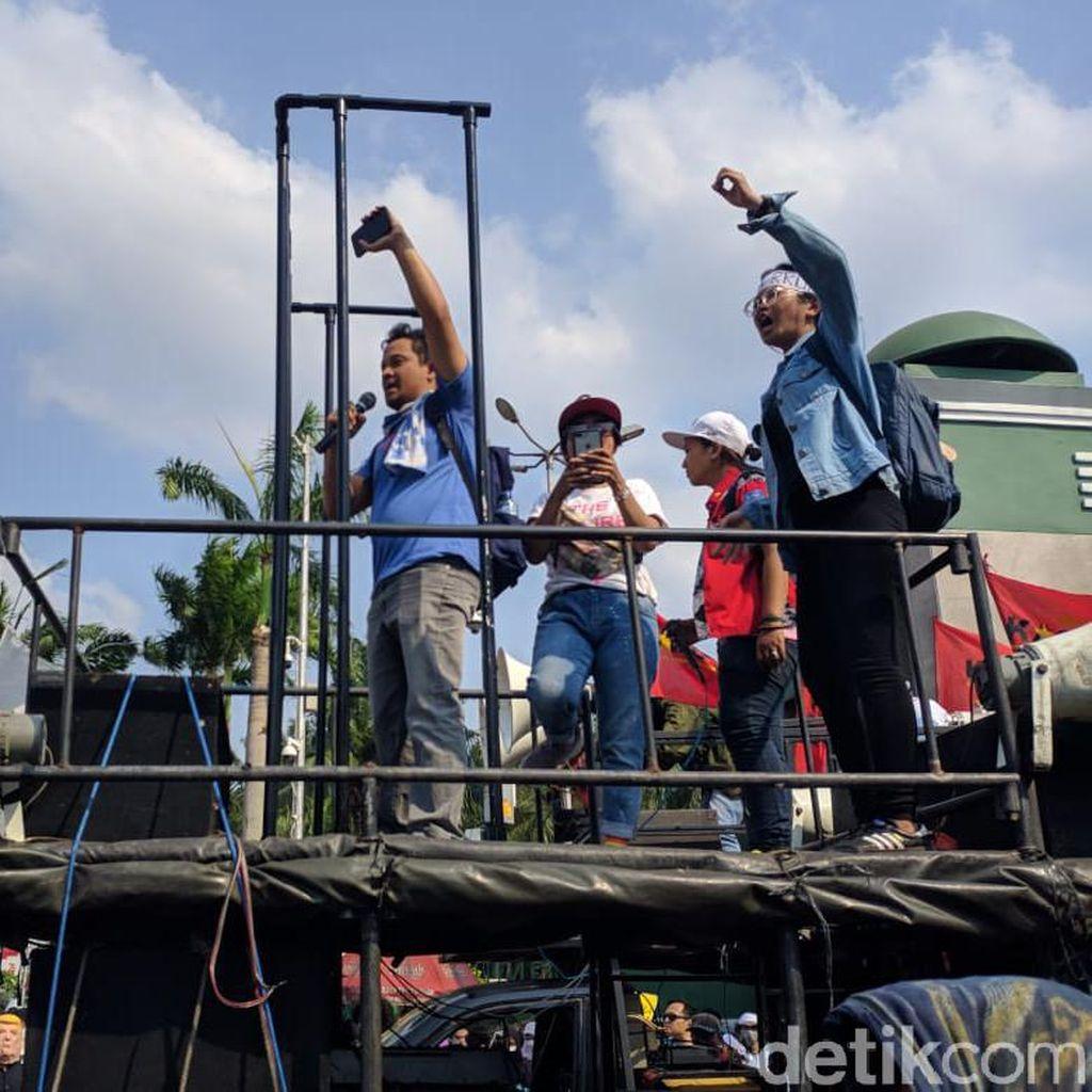Aksi di DPR, AJI Jakarta Nilai 10 Pasal di RKUHP Membungkam Pers