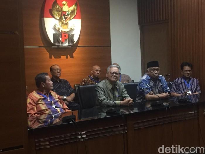 Para mantan pimpinan KPK (Ibnu Hariyanto/detikcom)