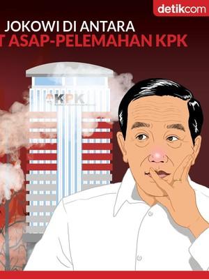 Mengingatkan Janji Jokowi soal Karhutla dan Pemberantasan Korupsi