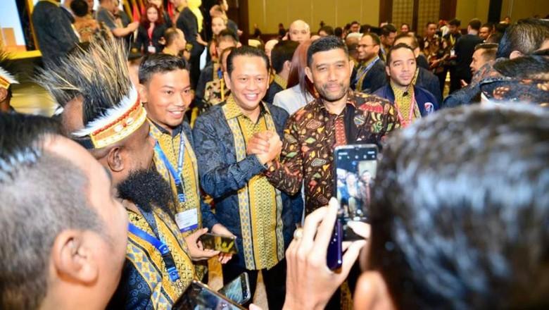 Di Munas Hipmi, Ketua DPR Harap Pengusaha Muda Ciptakan Wirausaha Baru