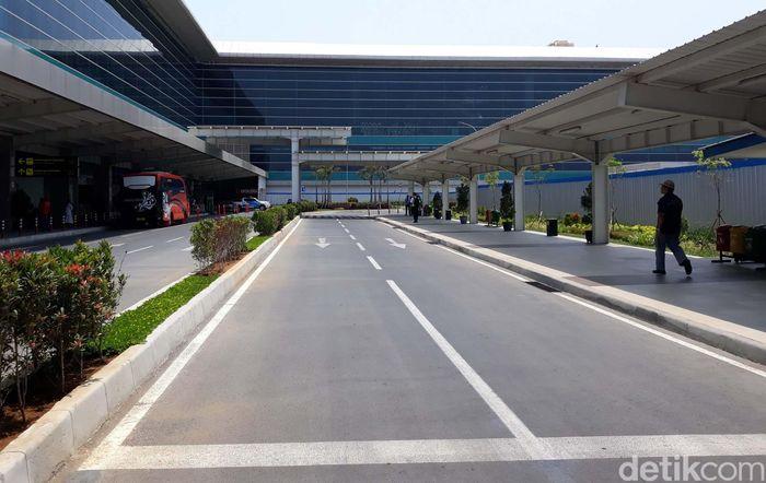 Progres pembangunan Yogyakarta International Airport (YIA) telah mencapai 80%.