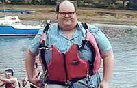 Penampilan George sebelum diet