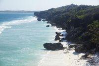 Pantai Batu Pintu dari atas bukit (Afif Farhan/detikcom)