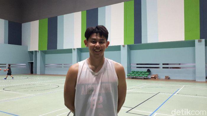 Oki Wira Sanjaya bakal masuk Timnas Basket 3x3 di SEA Games 2019 (Mercy Raya/detikSport)
