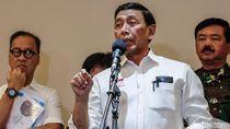Wiranto: Jokowi Minta Pelaku Karhutla Ditindak Keras dan Tegas