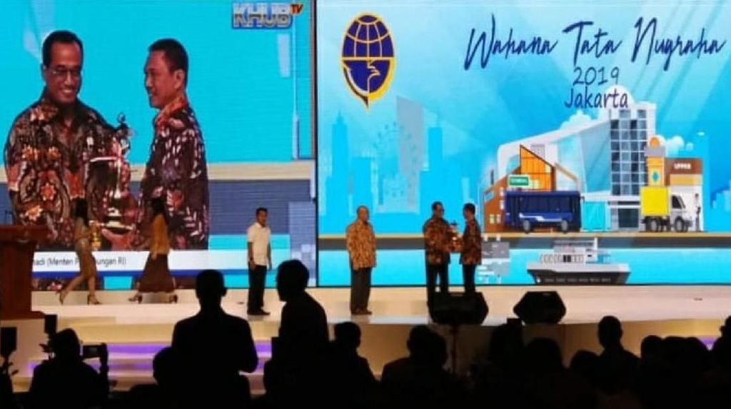 Tertib Transportasi, Ciamis Raih Piala WTN Ke-13 dari Kemenhub