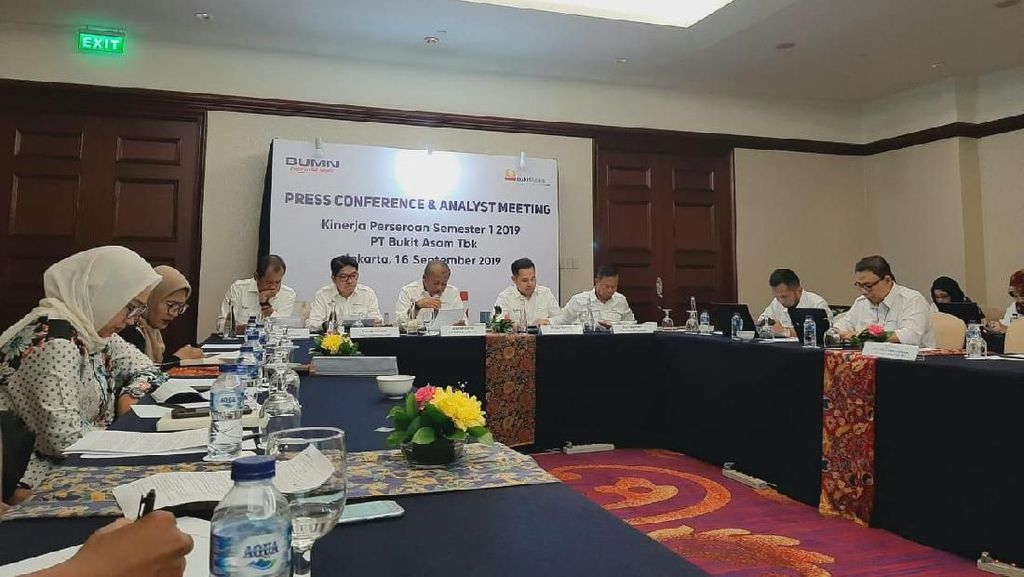 Semester I-2019, Bukit Asam Cetak Laba Bersih di Atas Rp 2 Triliun