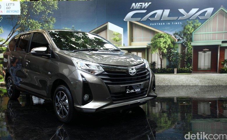 Toyota New Calya Foto: Rifkianto Nugroho