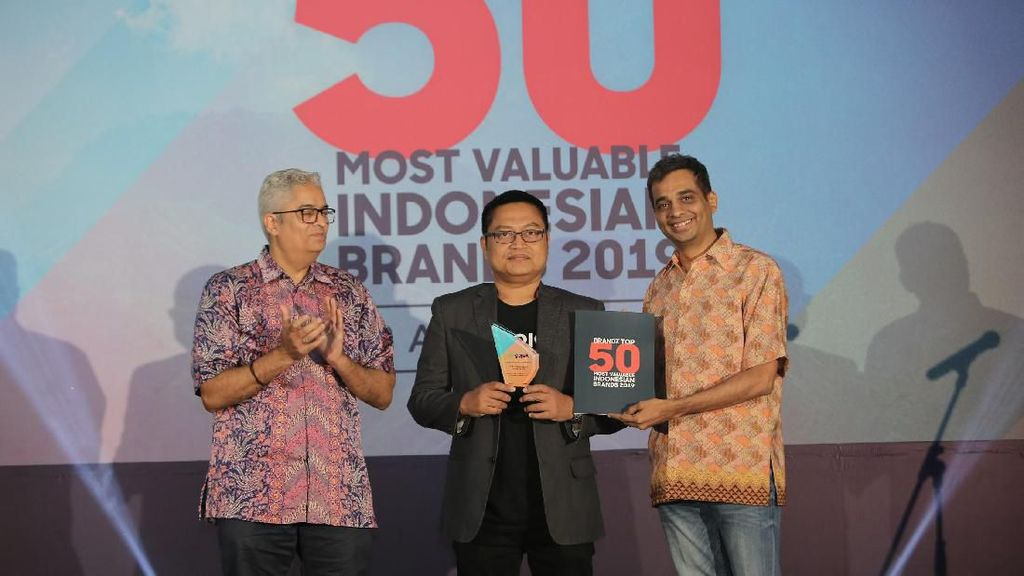 Gojek Masuk Top 10 Most Valuable Indonesian Brand 2019