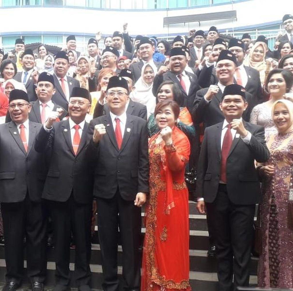 50 Anggota DPRD Medan 2019-2024 Dilantik, Terbanyak PDIP dan Gerindra