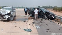 Kecelakaan di Tol Palembang-Lampung, 1 Orang Tewas