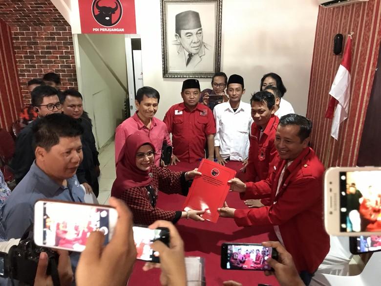 Putri Maruf Amin Daftar Penjaringan Bakal Cawalkot Tangsel dari PDIP