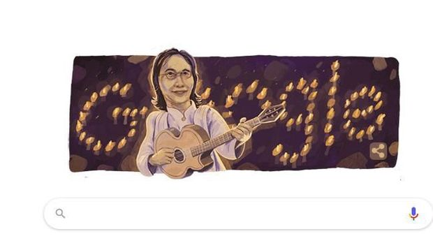 Google Doodle Kenang Penyanyi Legenda Chrisye