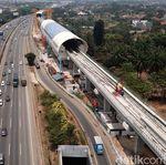 Kereta LRT Jabodebek Diuji Coba Cibubur-Cawang 18 Oktober