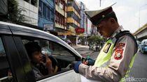 Perluasan Ganjil-Genap, Ratusan Pengendara Mobil Masih Melanggar