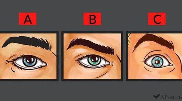 Tes Kepribadia: Pilih 1 dari 3 Mata yang Paling Terlihat Seperti Orang Marah