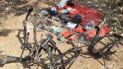 Gerebek Persembunyian Begal, Polisi Temukan Bondet dan Rangka Motor