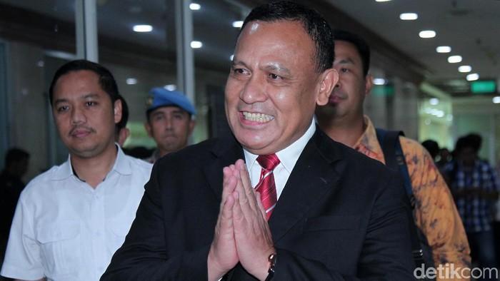 Ketua KPK terpilih sekaligus Kabaharkam Polri Komjen Firli Bahuri (Foto: Lamhot Aritonang/detikcom)