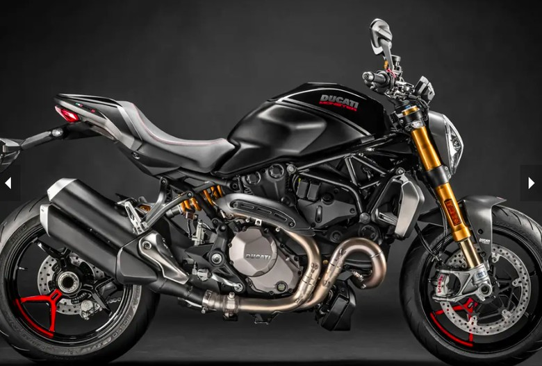 Ducati Monster Black on Black Foto: Pool (MCN)