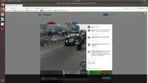Viral Video Aksi Polisi Menemplok di Kap Mobil di Pasar Minggu