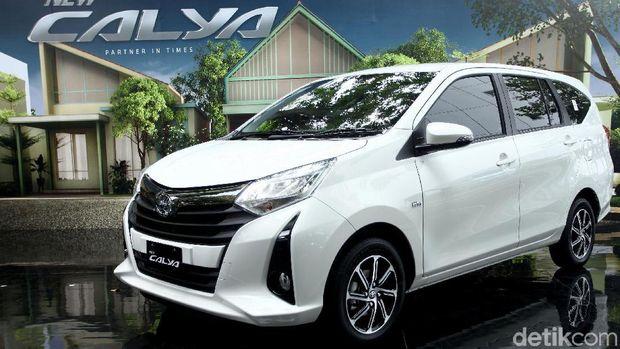 Toyota Calya menggunakan sistem penggerak roda depan
