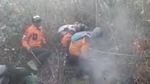 Kembali Muncul Asap di Lereng Gunung Merbabu