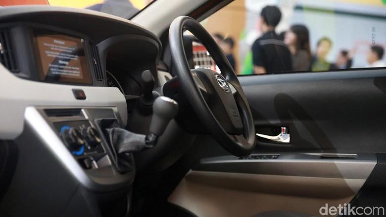 Interior Daihatsu Sigra Foto: Ari Saputra