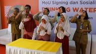 2.805 Siswa di Lebak Banten Terima Bantuan Air Bersih
