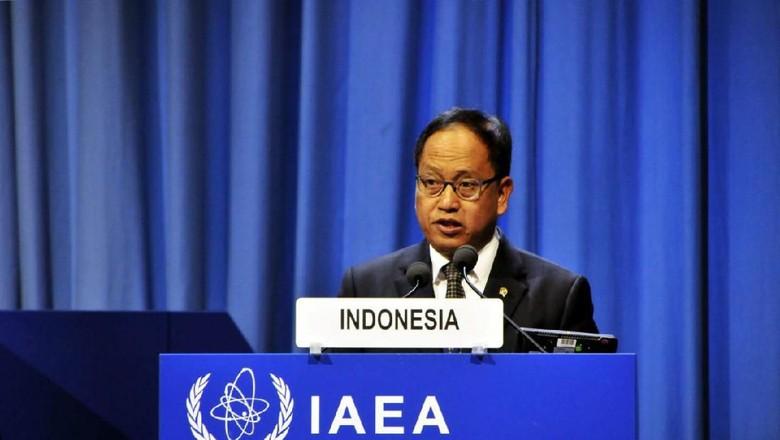 Menristek Hadiri IAEA di Wina, Perkuat Kerja Sama Teknologi Nuklir
