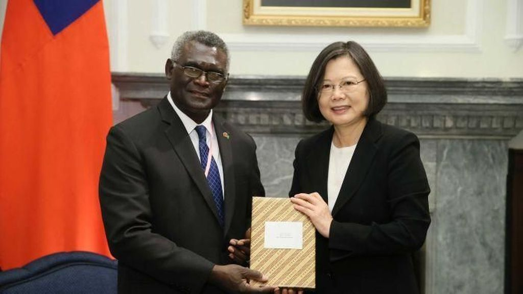 Putuskan Hubungan dengan Taiwan, Solomon Islands Putar Haluan ke China
