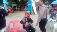 Polisi: Pria Penodong Pisau di Pantai Kuta Baru Keluar dari RSJ Bangli