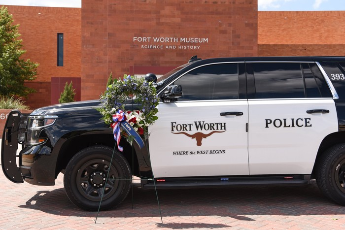 Kepolisian Fort Worth Texas AS (Foto: Twitter @fortworthpd)