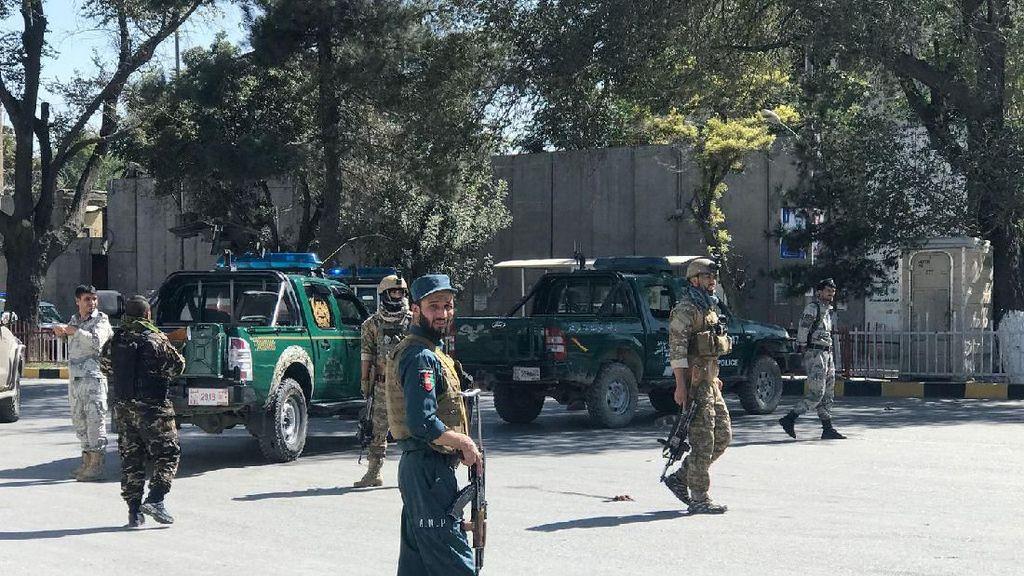Bom Bunuh Diri Dekat Acara Kampanye Presiden Afghanistan, 24 Orang Tewas