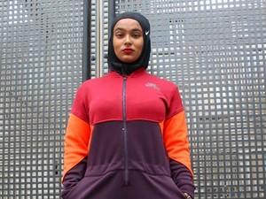 Pelatih Fitness Ini Jadi Model Nike Berhijab Pertama di Inggris