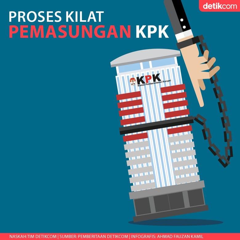 KPK Tetapkan Tersangka Baru Saat UU Hasil Revisi Belum Berlaku
