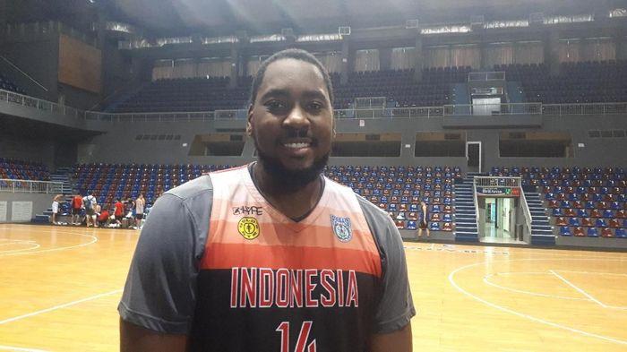 Calon pemain naturalisasi Indonesia Denzel Bowles dipulangkan ke Amerika Serikat. (Foto: Mercy Raya / detiksport)