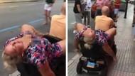 Turis Wanita Mabuk, Naik Skuternya Kayak Begini