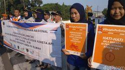 Sepanjang 2019, 45 Nyawa Melayang di Perlintasan KA Daop Cirebon